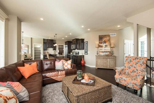 Greatroom-and-Dining-in-The Palmer-at-Ridgewood Place At Chapman Farms-in-Blue Springs