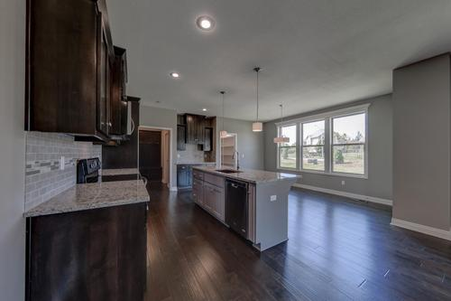 Kitchen-in-The Palmer II-at-Eagle Glen-in-Raymore