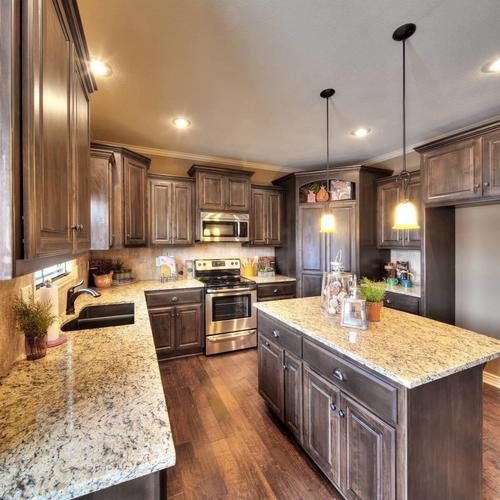 Kitchen-in-The Woodbury-at-Manor at Stoney Creek-in-Lees Summit