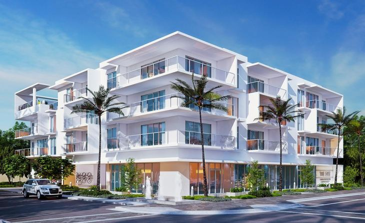 THE ONE Exterior:Corner S Palmway and Lake Avenue