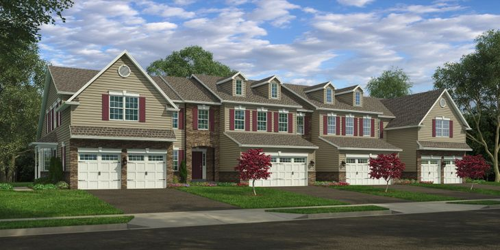 Exterior of Carriage Homes