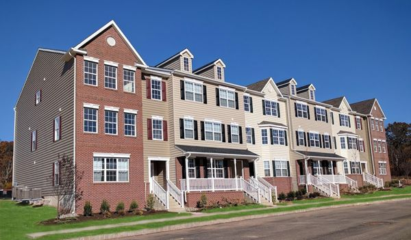 Exterior of Town Homes