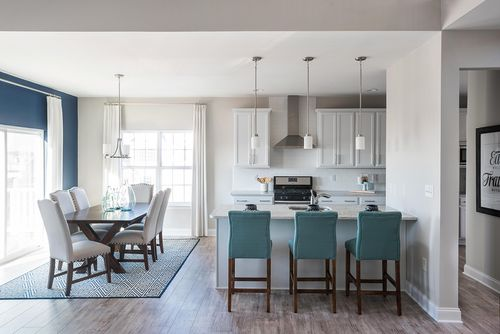 Kitchen-in-The Darlington-at-Lincoln Woods-in-Harleysville