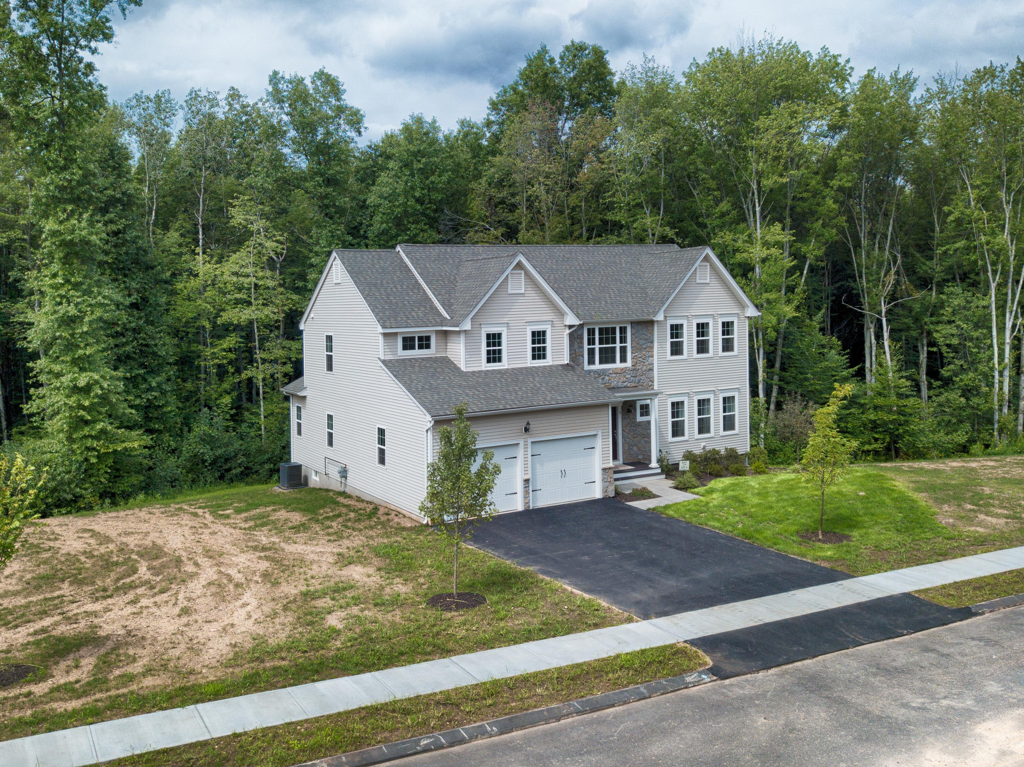 Exterior featured in the Senator By T & M Homes in Hartford, CT