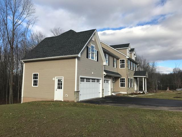 Exterior featured in the Richmond By T & M Homes in Hartford, CT