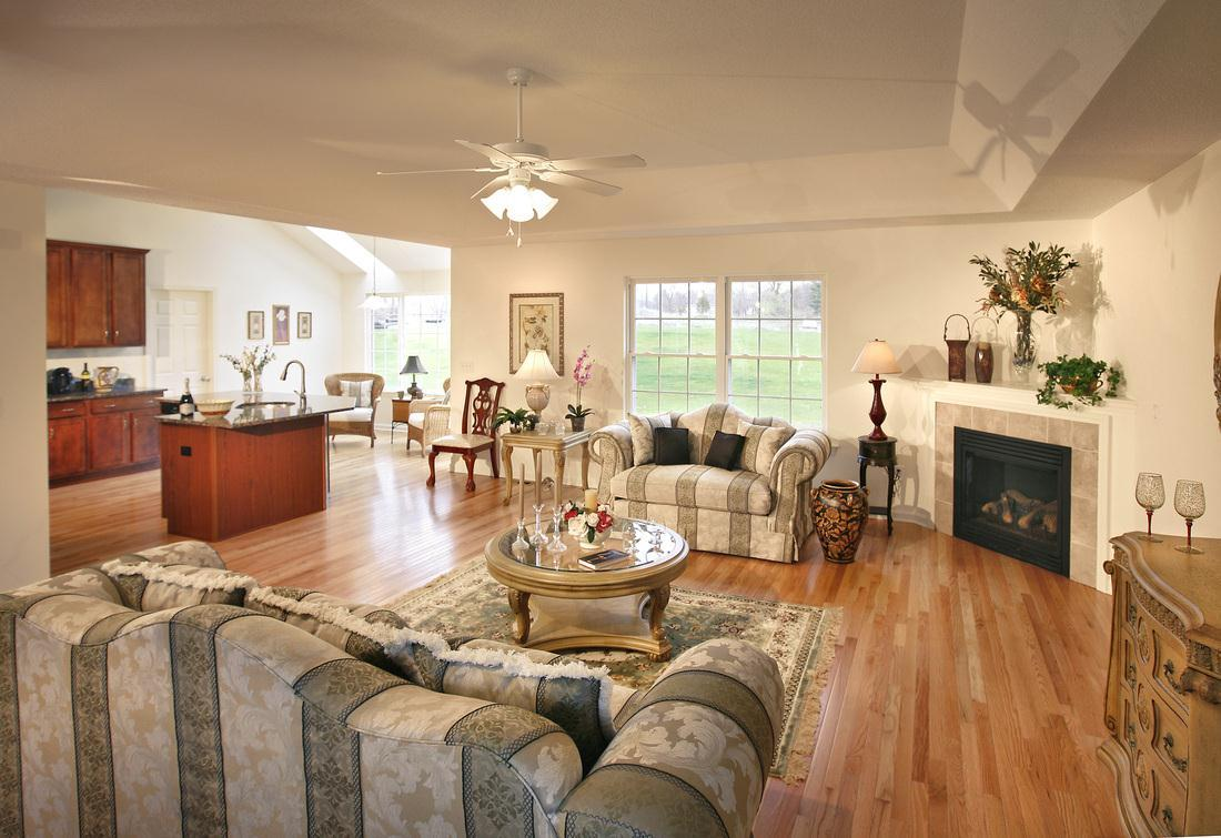 Living Area featured in The Heublein Alfred By T & M Homes in Hartford, CT
