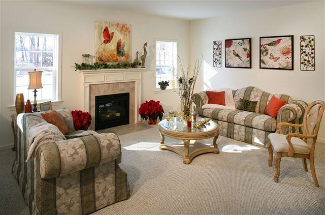 Living Area featured in The Reynaud Mystic Grand By T & M Homes in Hartford, CT