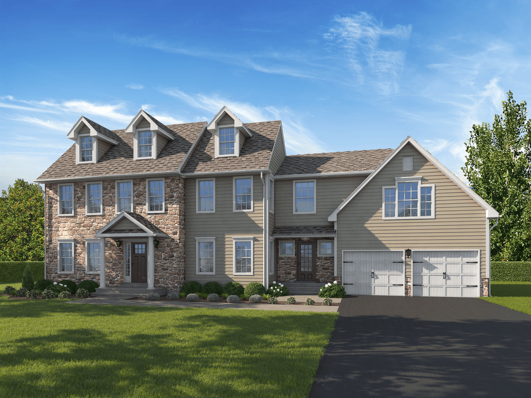 Exterior featured in The Richmond Pennsylvania Grand Plus By T & M Homes in Hartford, CT