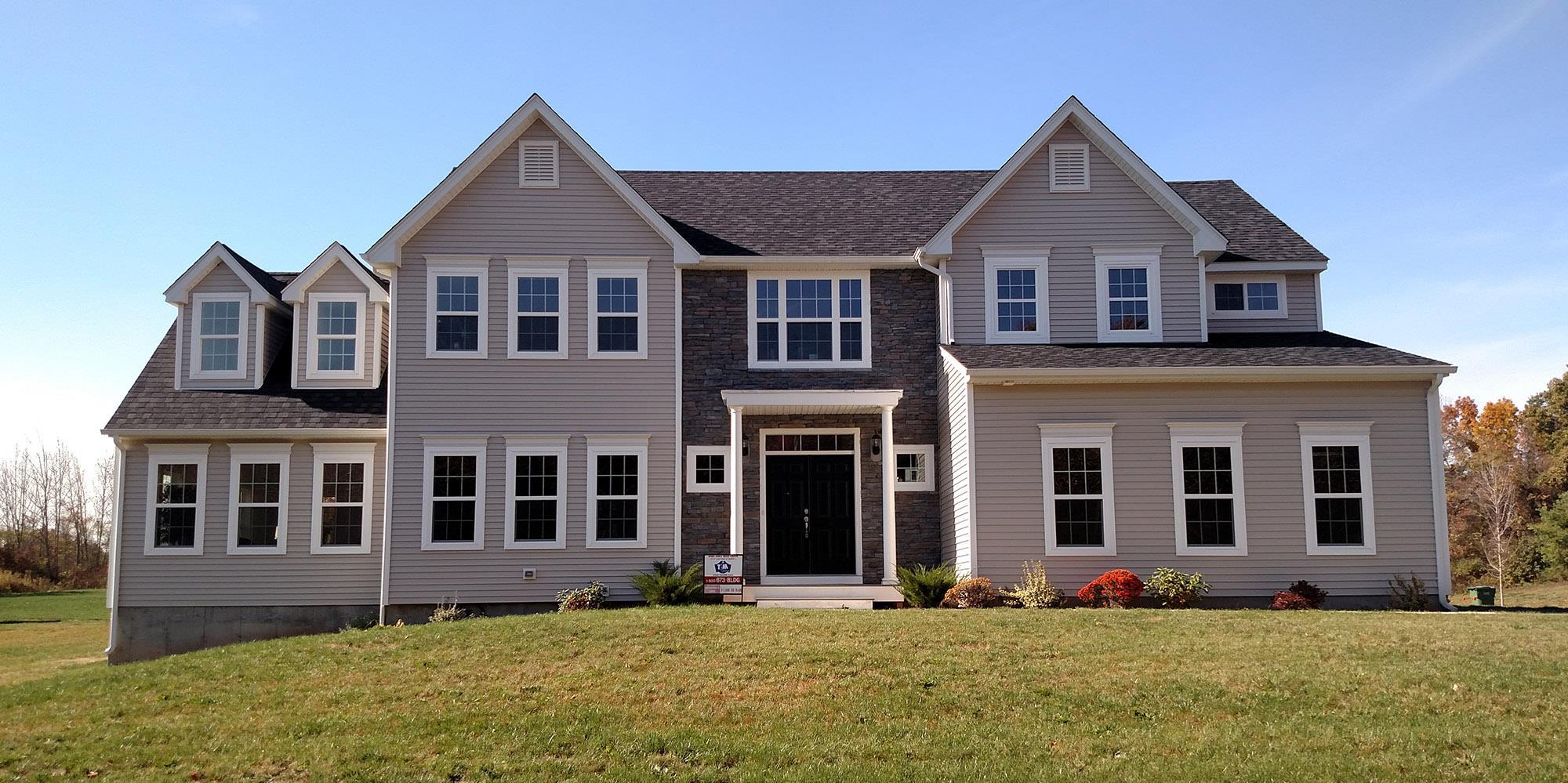 Exterior featured in The Senator High Grove Grand By T & M Homes in Hartford, CT