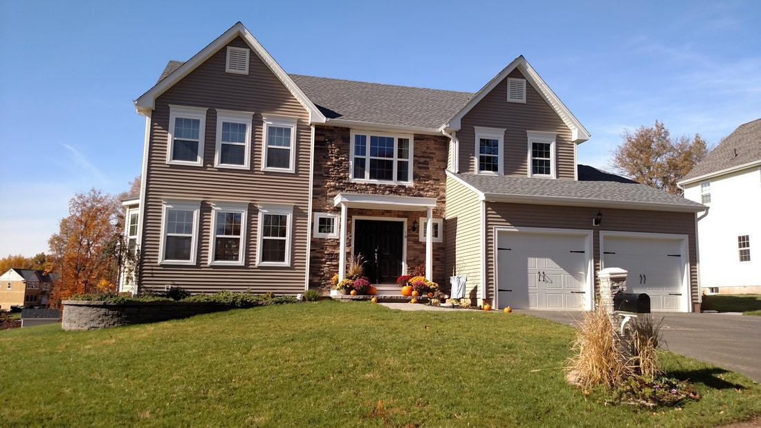 Exterior featured in The Senator High Grove Grand Plus By T & M Homes in Hartford, CT