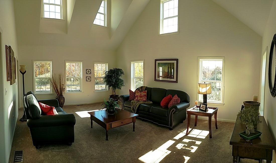 Living Area featured in The Senator Farmhouse By T & M Homes in Hartford, CT