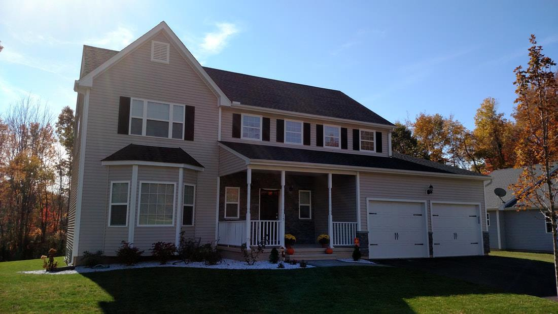 Exterior featured in The Senator Farmhouse Grand By T & M Homes in Hartford, CT