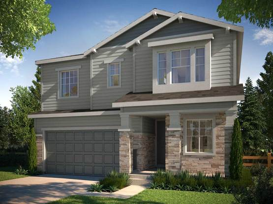 Prelude Collection at Ravenwood - Residence 3505 B:Craftsman Architecture