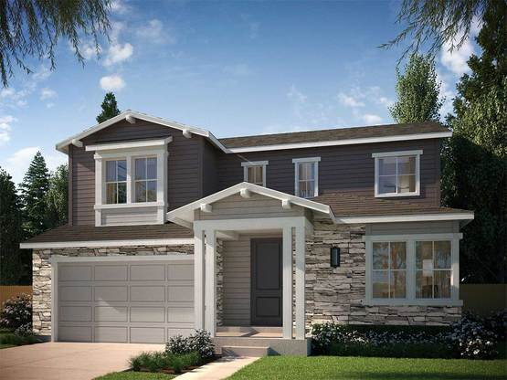Residence  4004 B:CRAFTSMAN ELEVATION B ~ RESIDENCE 4004