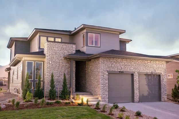 Exterior:Model Home - Residence 4024 | Elevation D