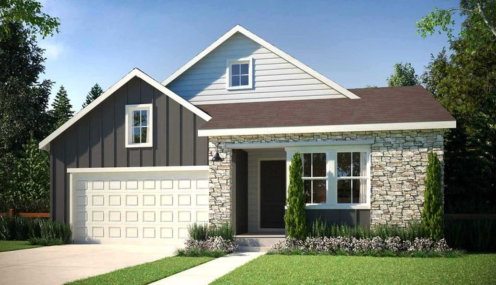 Exterior:Residence 4021 | Elevation B - Hill Country
