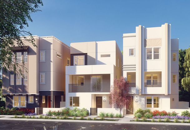 Exterior:Residence 3 - Contemporary Rendering