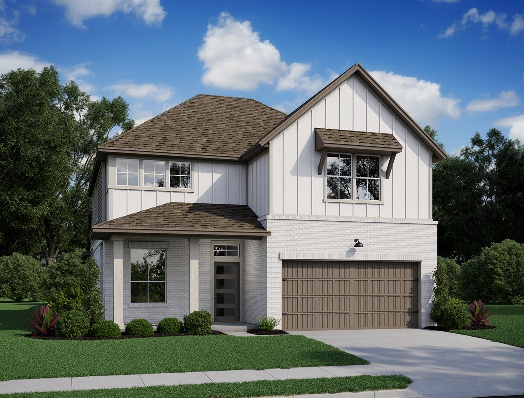 Robin Plan At Grand Central Park In Conroe Tx By Tri Pointe Homes