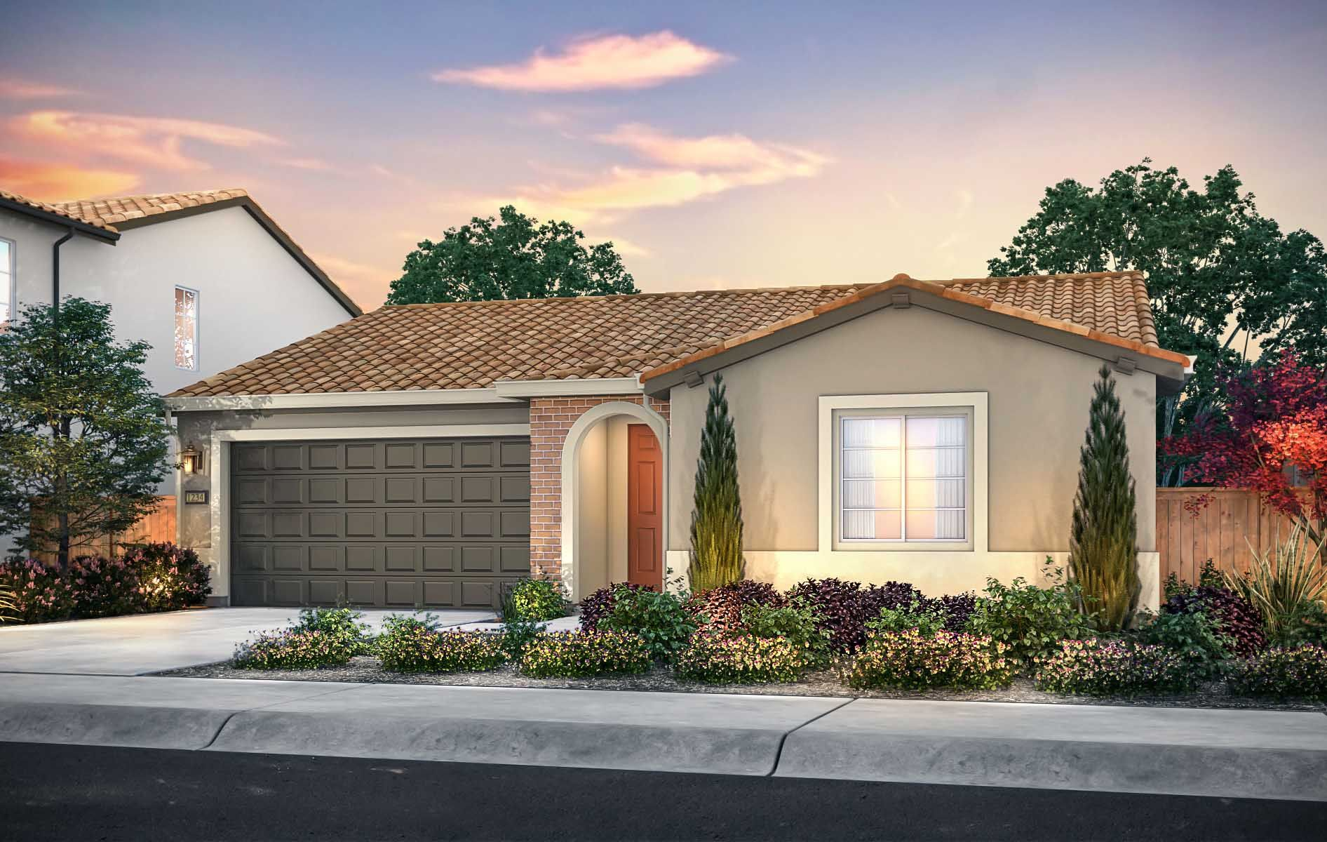 Exterior featured in the Residence 1 By TRI Pointe Homes in Sacramento, CA