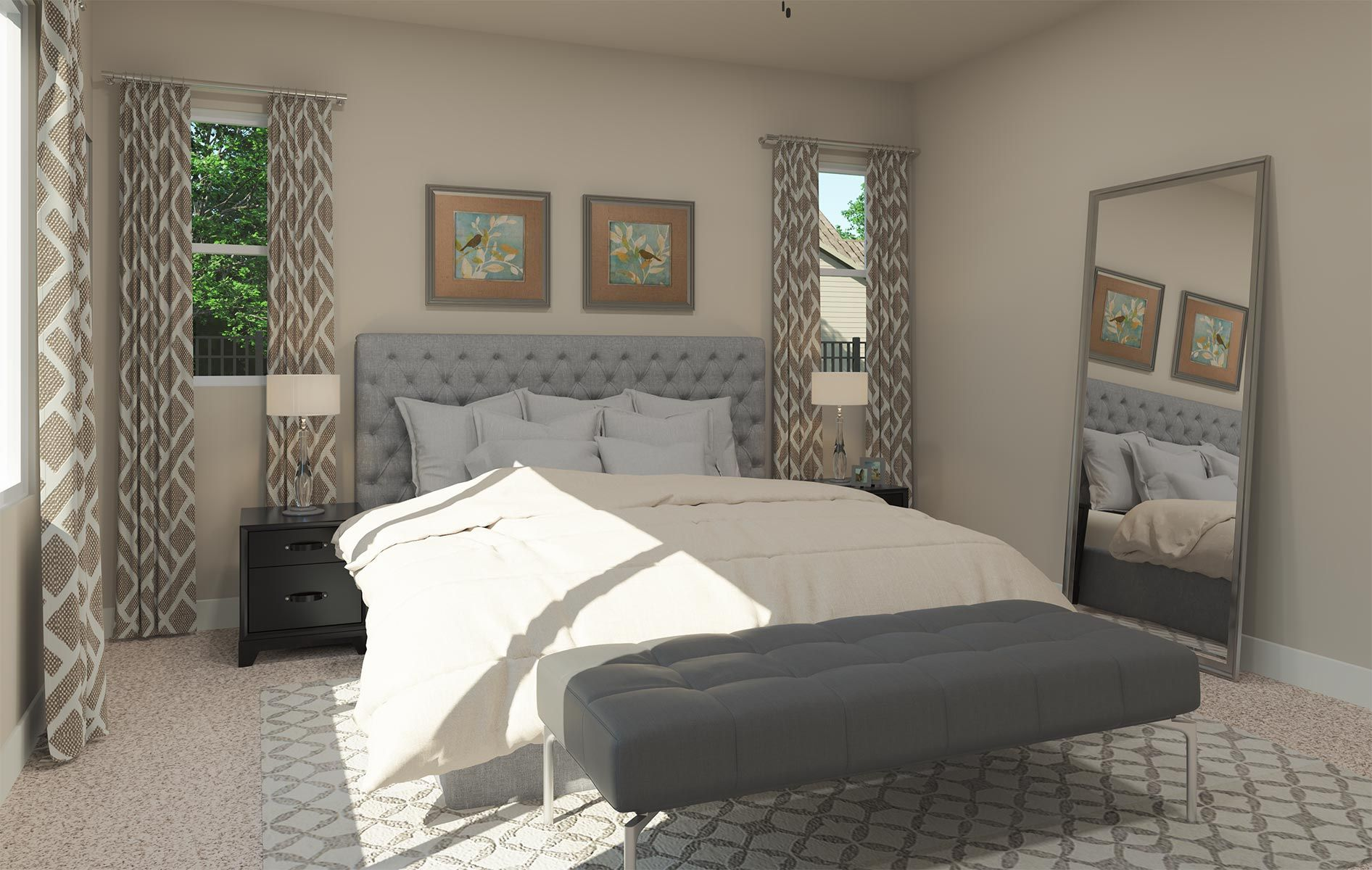 Bedroom featured in the Residence 1 By TRI Pointe Homes in Sacramento, CA