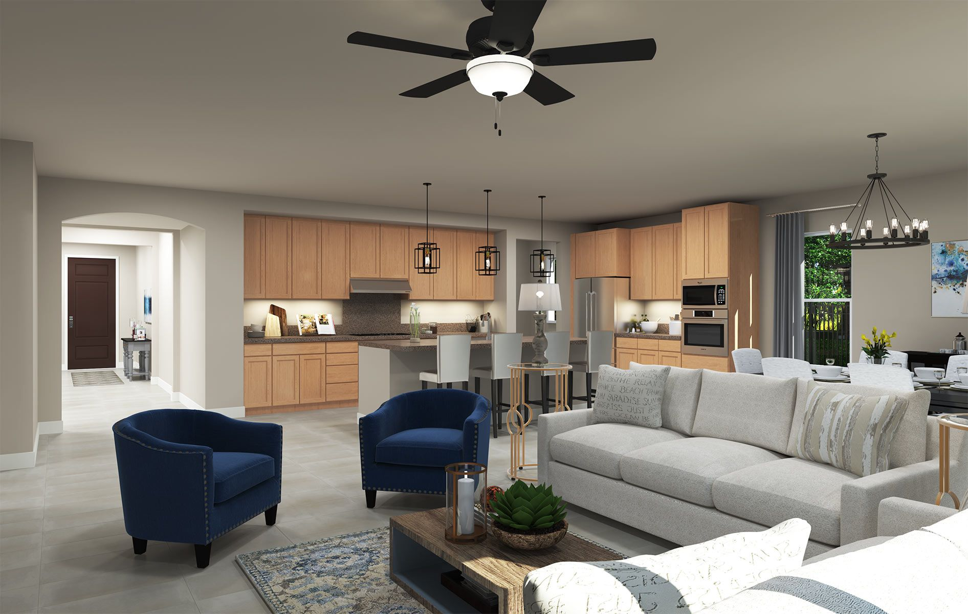 Living Area featured in the Residence 1 By TRI Pointe Homes in Sacramento, CA