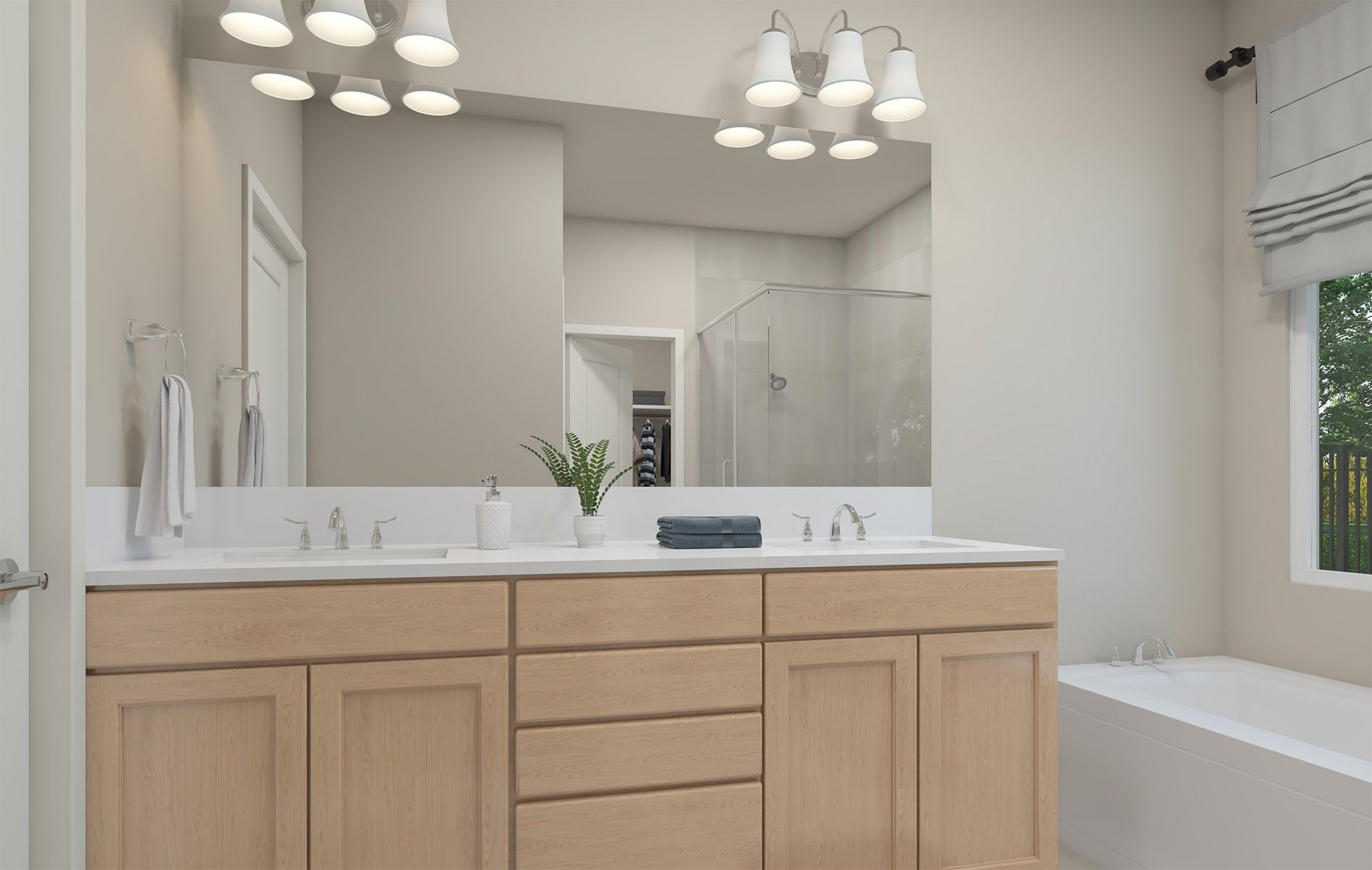Bathroom featured in the Residence 1 By TRI Pointe Homes in Sacramento, CA