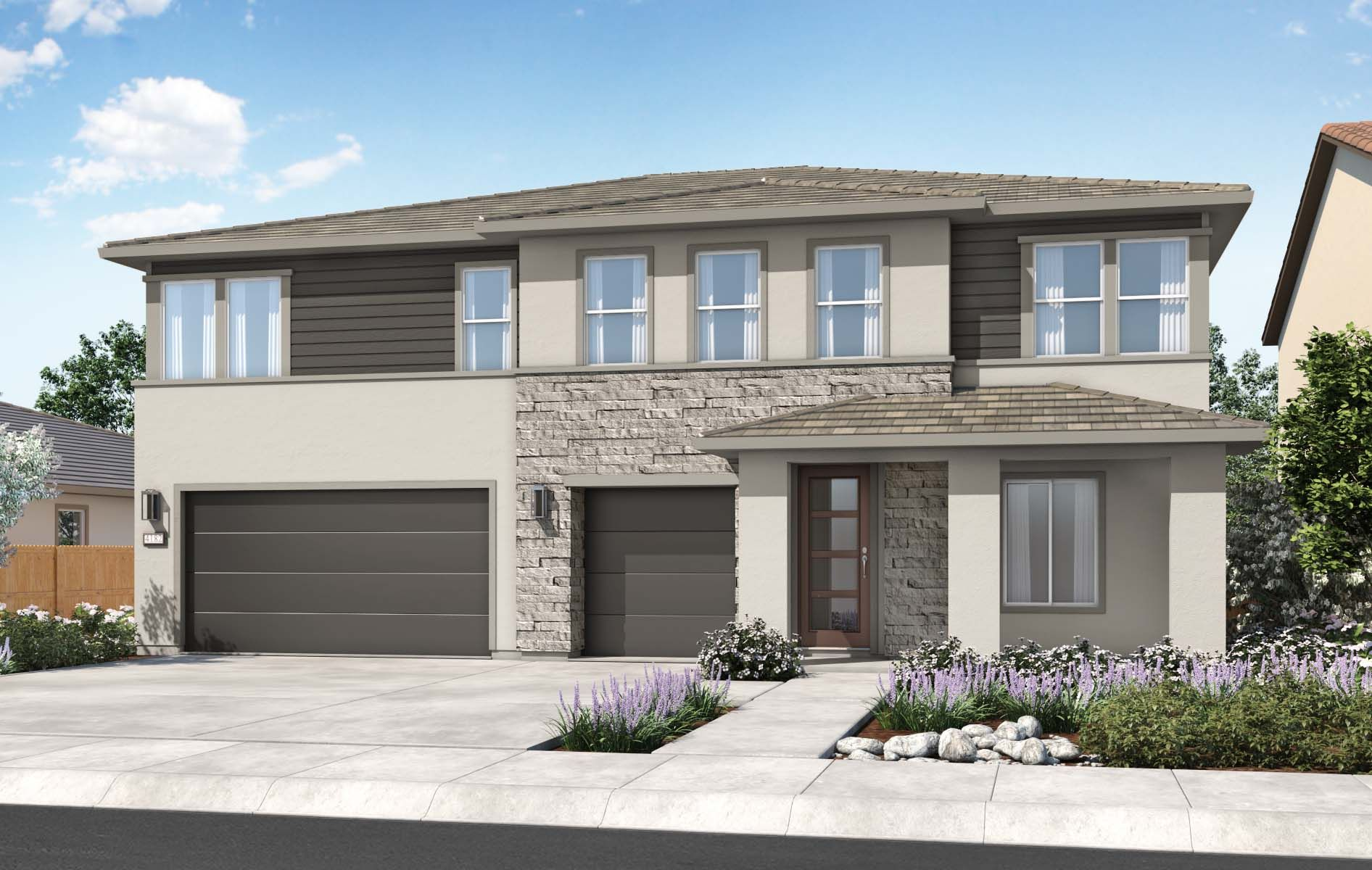 Exterior featured in the Residence 2 By TRI Pointe Homes in Sacramento, CA