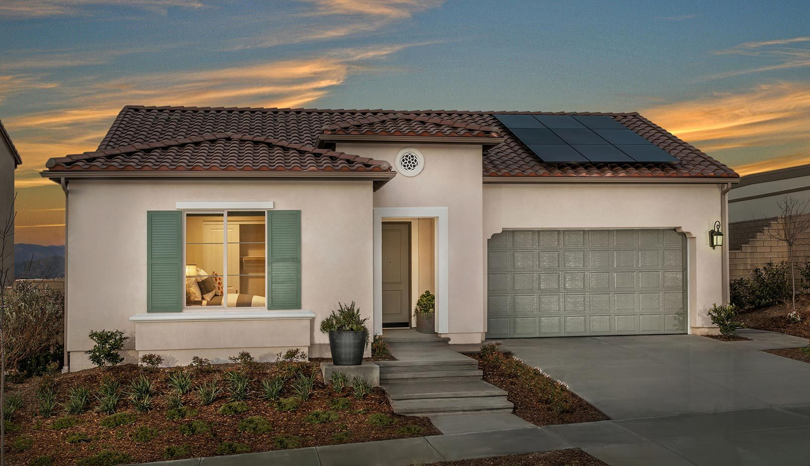 Exterior featured in the Residence 1 By TRI Pointe Homes in Los Angeles, CA