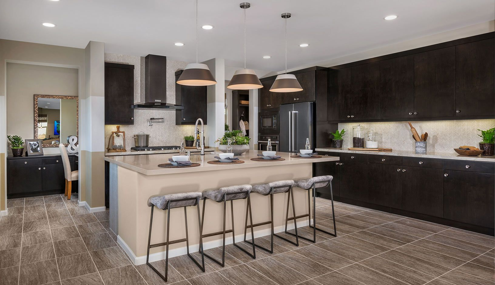 Kitchen featured in the Residence 2 By TRI Pointe Homes in Los Angeles, CA