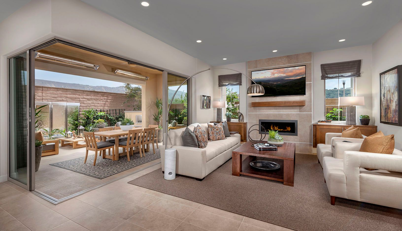 Living Area featured in the Residence 3 By TRI Pointe Homes in Orange County, CA