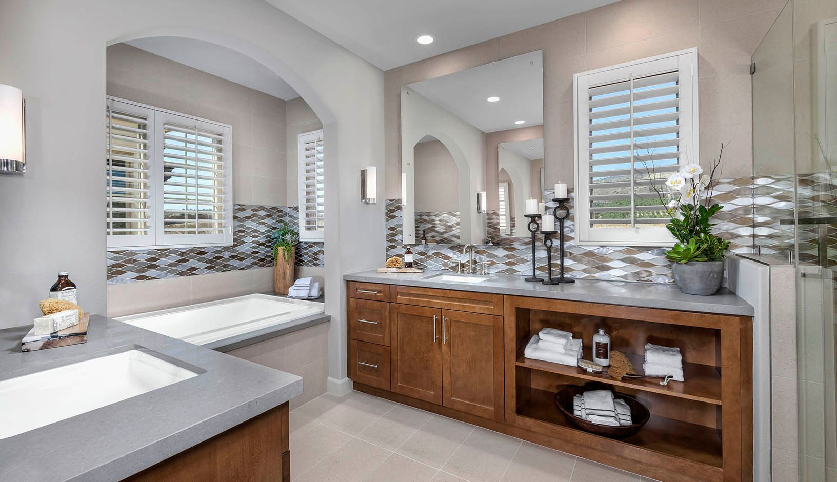 Bathroom featured in the Residence 3 By TRI Pointe Homes in Orange County, CA
