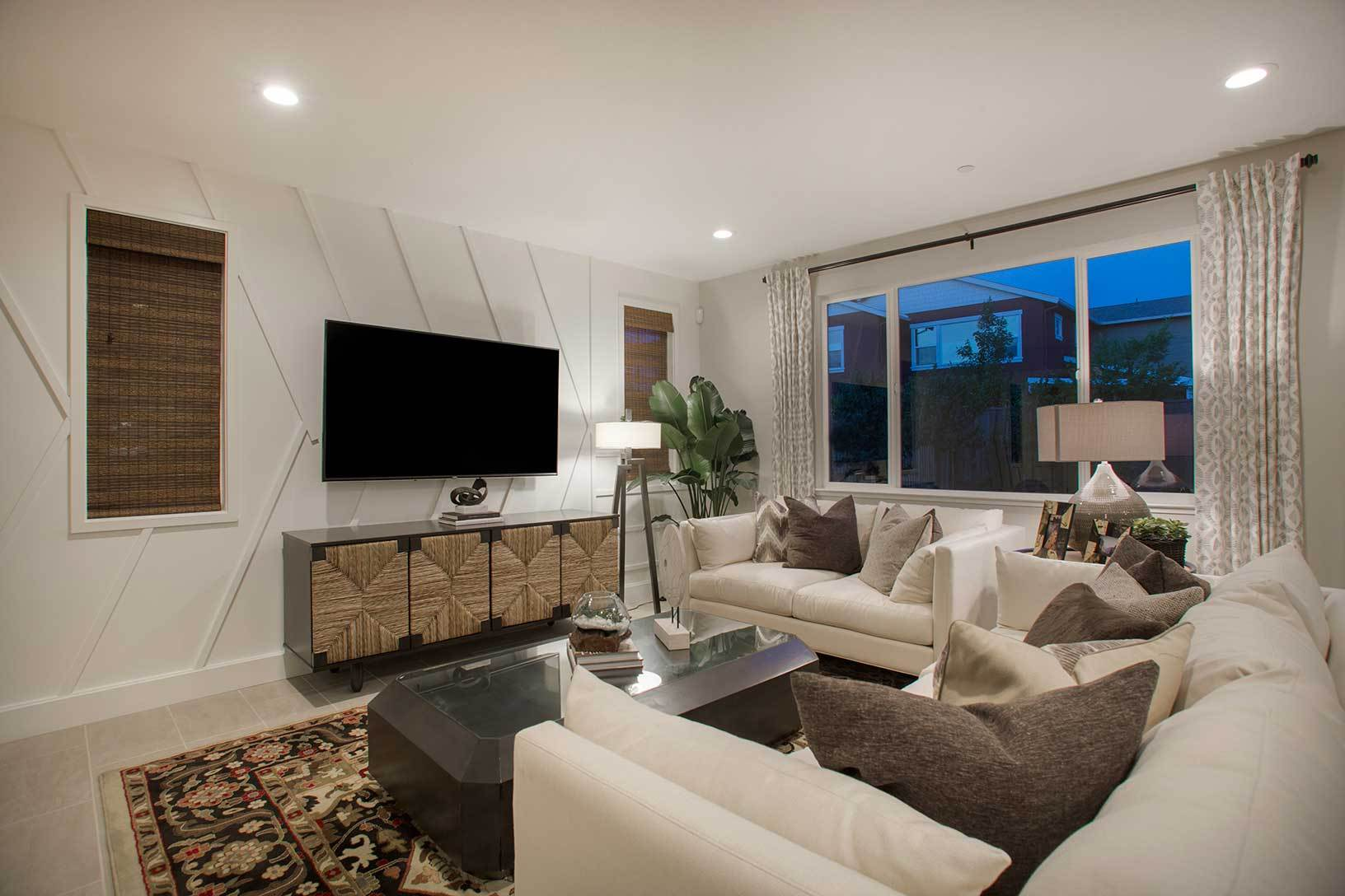 Living Area featured in the Residence 1 By TRI Pointe Homes in San Jose, CA