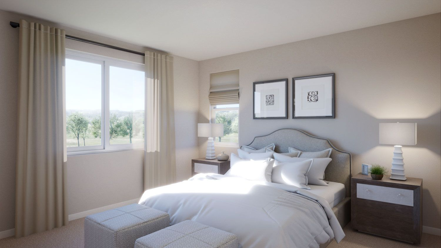 Bedroom featured in the Residence 1 By TRI Pointe Homes in Vallejo-Napa, CA