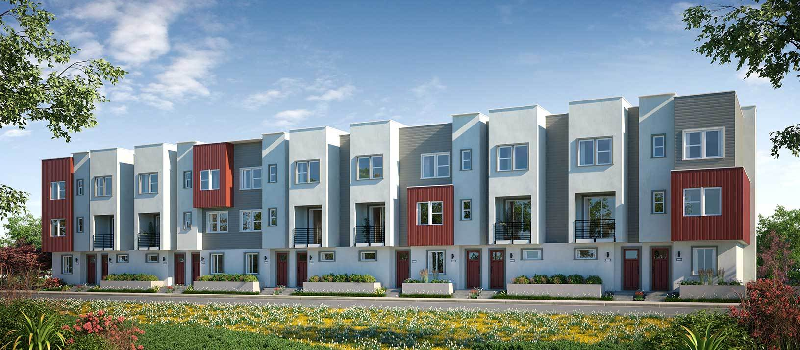 Exterior featured in the Residence 8 By TRI Pointe Homes in Oakland-Alameda, CA