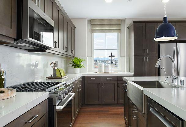 Res. 1 Kitchen (3):Residence 1B - Kitchen