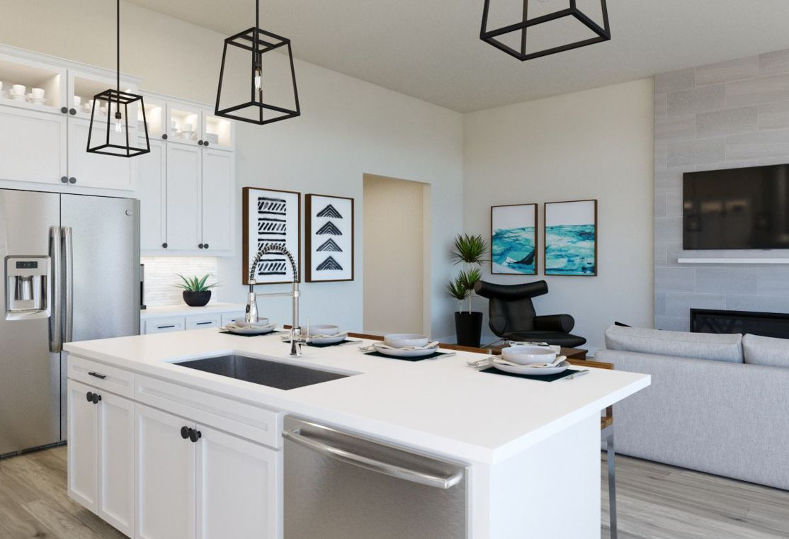Kitchen featured in the Residence 4503 By TRI Pointe Homes in Denver, CO