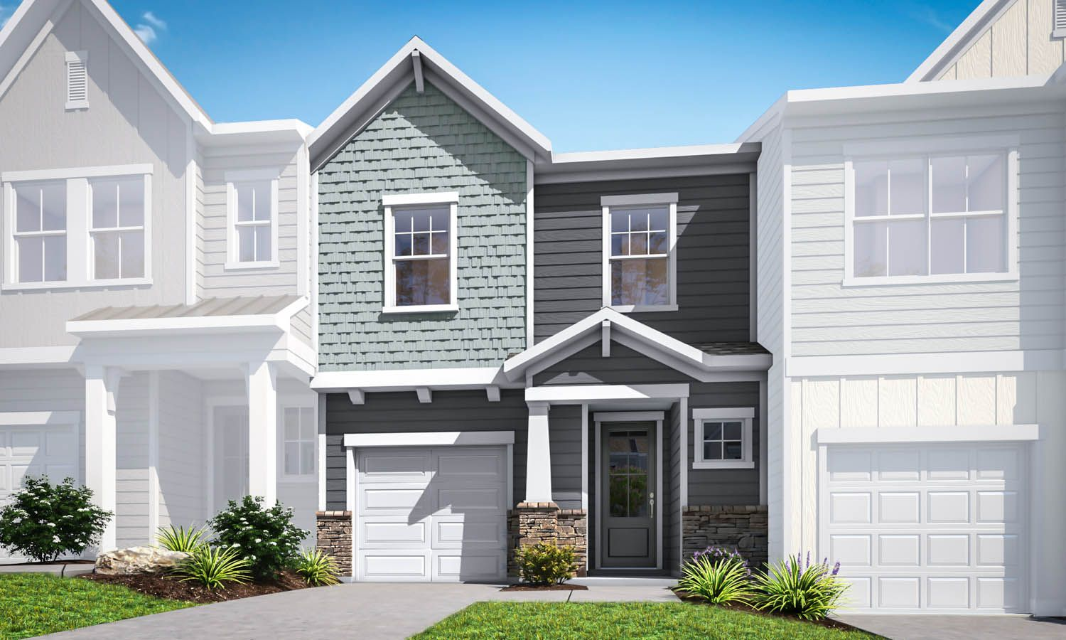 Exterior featured in the Residence 1 By TRI Pointe Homes in Charlotte, SC