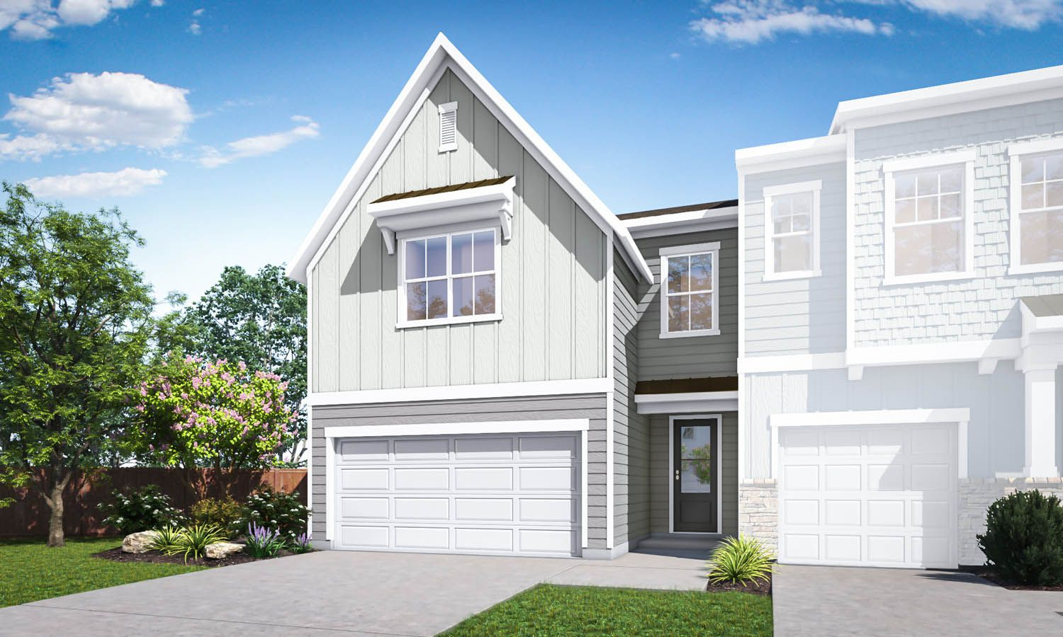 Exterior featured in the Residence 4 By TRI Pointe Homes in Charlotte, SC