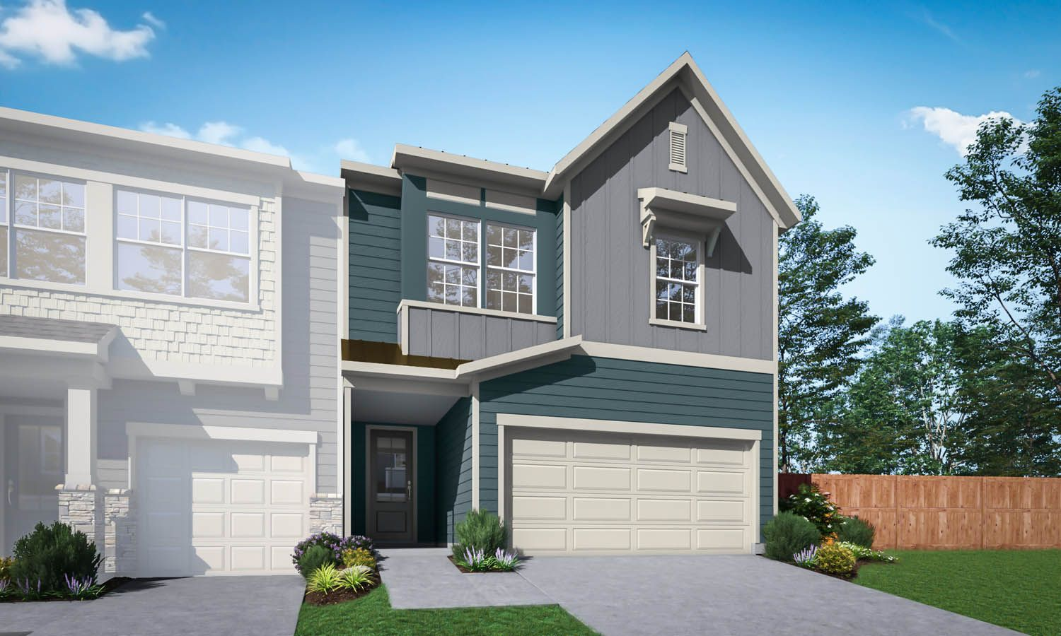 Exterior featured in the Residence 6 By TRI Pointe Homes in Charlotte, SC