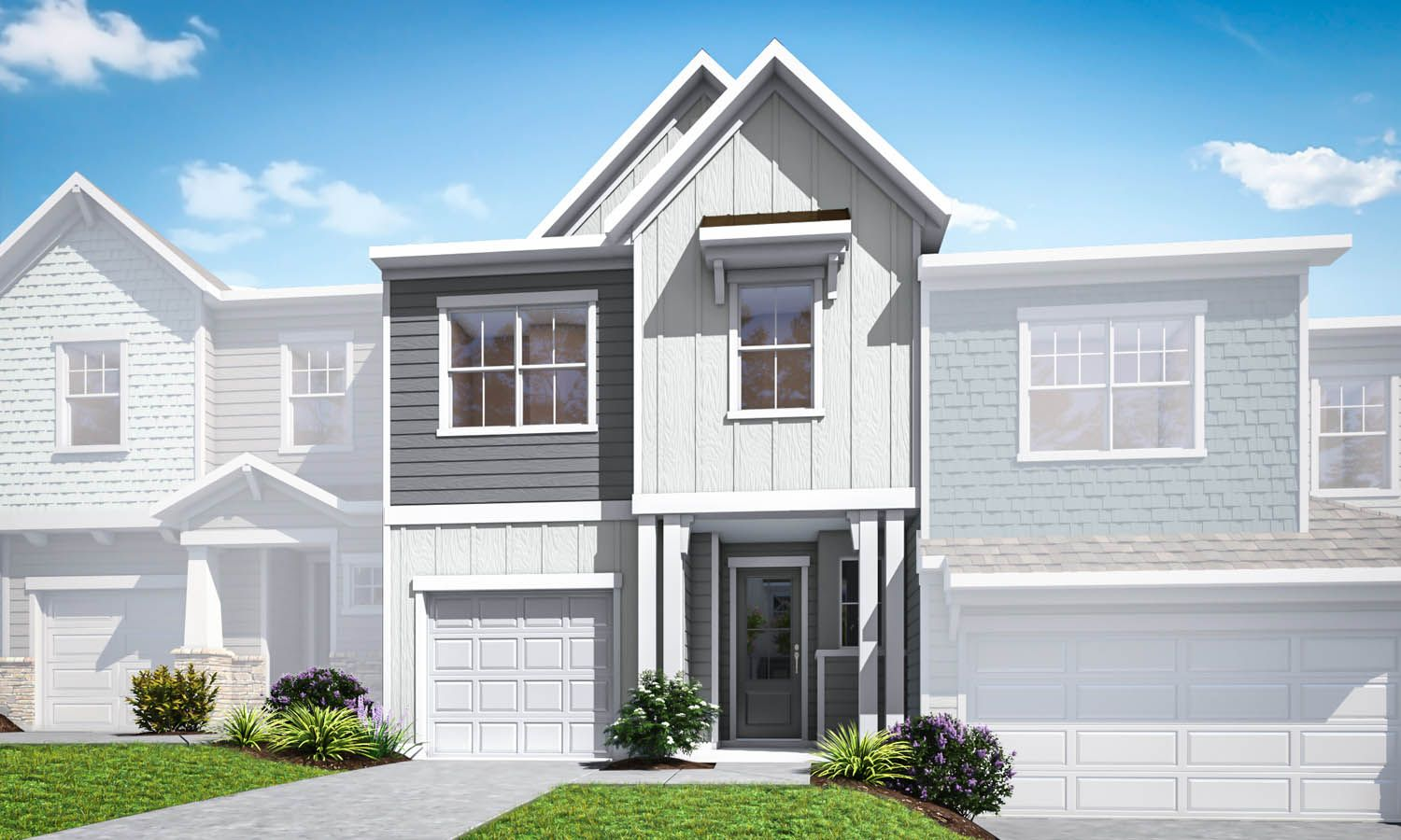 Exterior featured in the Residence 3 By TRI Pointe Homes in Charlotte, SC