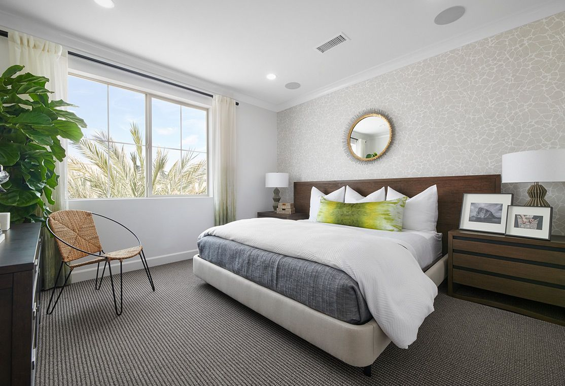 Bedroom featured in the Residence 2 By TRI Pointe Homes in Orange County, CA