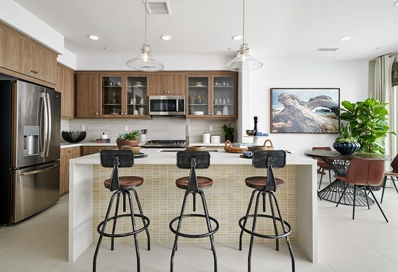 Interior:Residence 4 - Kitchen