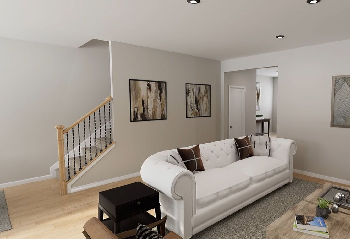 Living Area featured in the Residence 1 By TRI Pointe Homes in Charlotte, SC