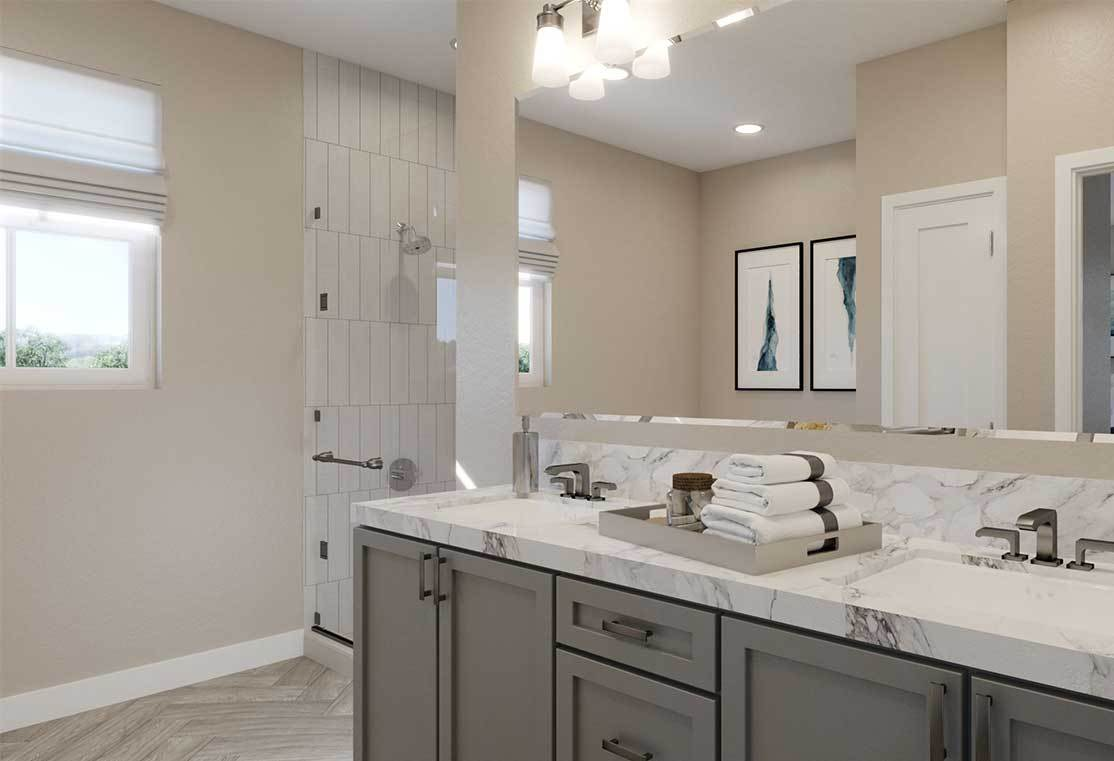 Bathroom featured in the Residence 3 By TRI Pointe Homes in Santa Rosa, CA
