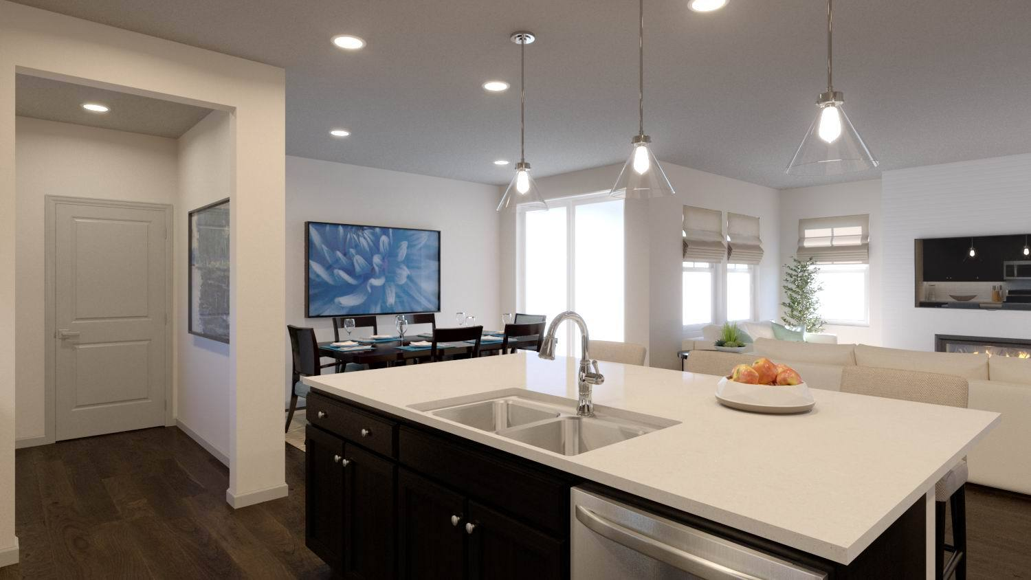 Kitchen featured in the Residence 3205 By TRI Pointe Homes in Denver, CO