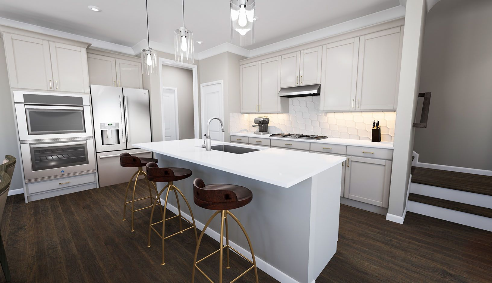Kitchen featured in the Residence 6 By TRI Pointe Homes in Charlotte, SC