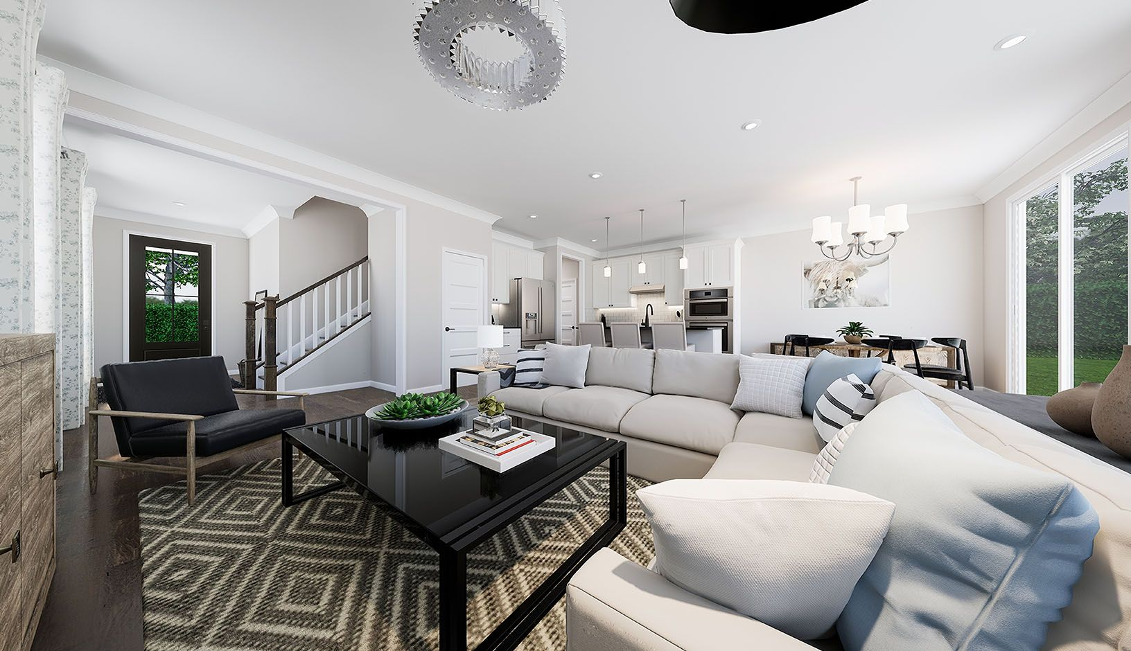Living Area featured in the Residence 6 By TRI Pointe Homes in Charlotte, SC