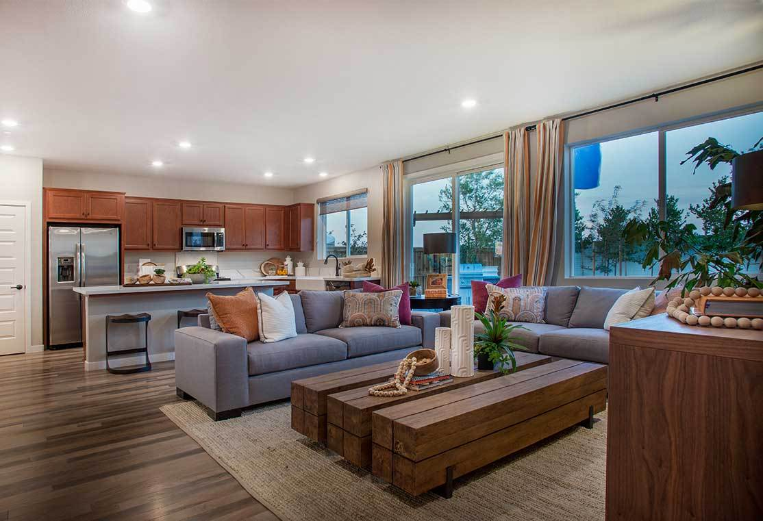 Living Area featured in the Residence 1 By TRI Pointe Homes in Stockton-Lodi, CA