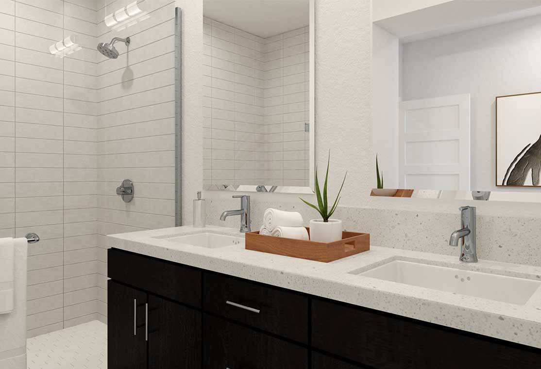 Bathroom featured in the Residence A By TRI Pointe Homes in San Francisco, CA