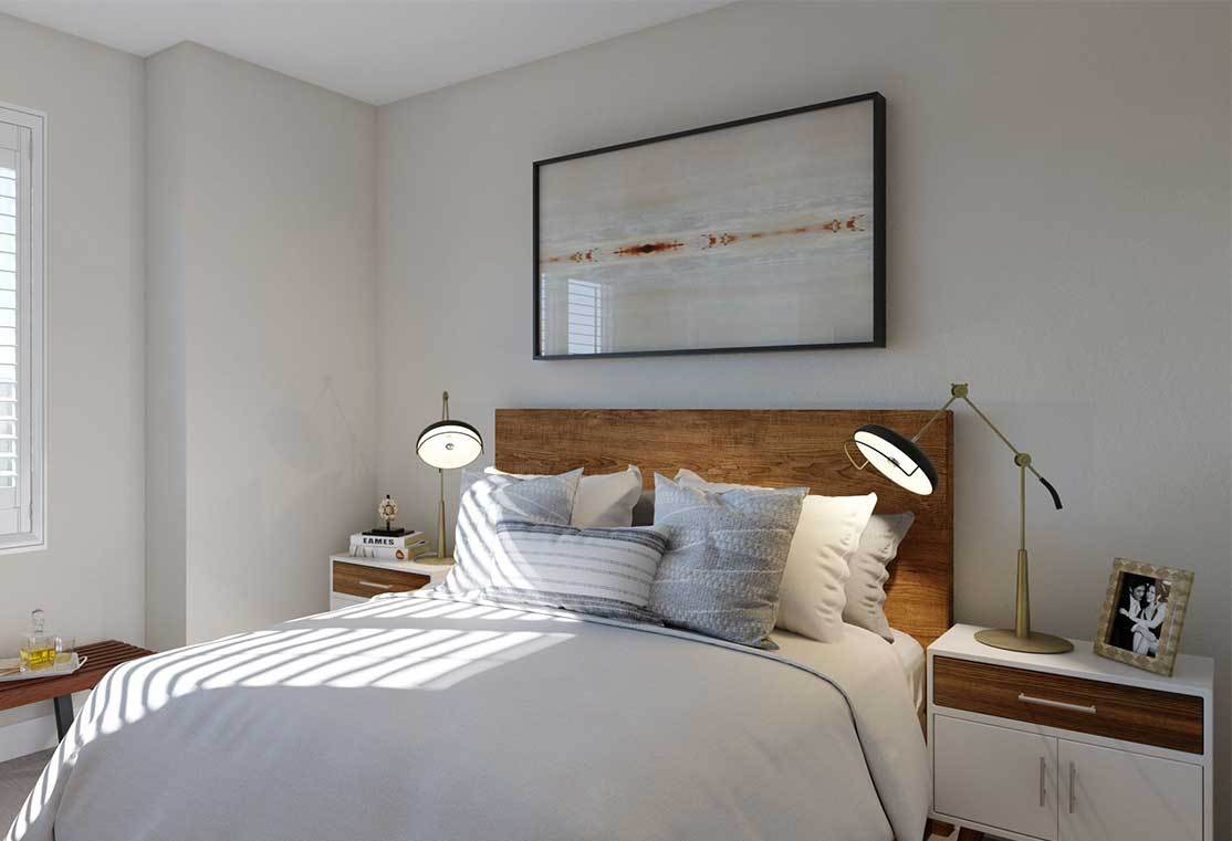 Bedroom featured in the Residence C By TRI Pointe Homes in San Francisco, CA